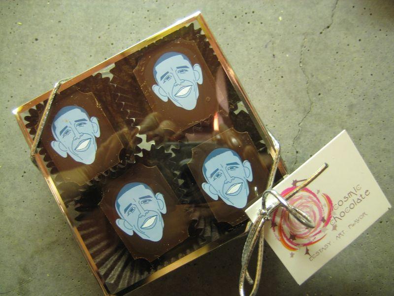Obama chocolates